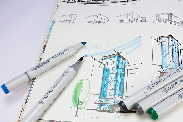 אדריכלית במרכז
